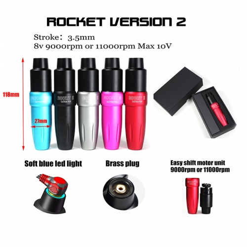 Rocket II tattoo pen machine