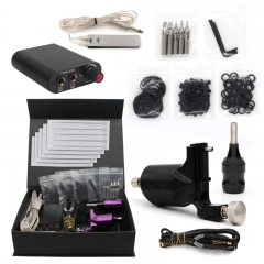Professional Complete Rotary Tattoo Machine Gun Kit  Foot Pedal