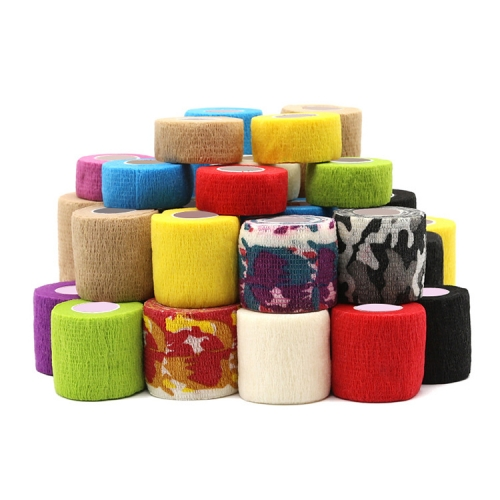 12 pcs/boxes Elastic Bandage Tape Handle Grip Tube for Tattoo Machine Grip Accessories