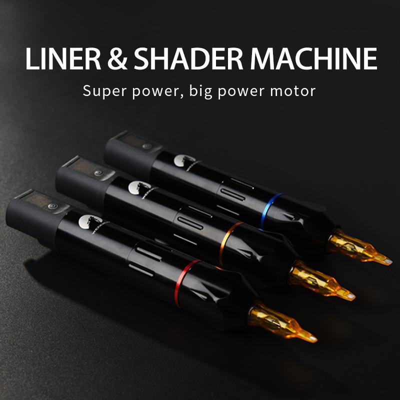 Werewolf X6 Motor Tattoo Pen Machine with Wireless Power Supply