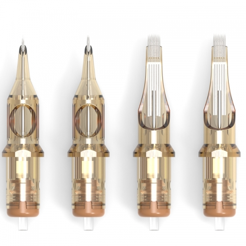 20pcs/box Light Brown Ambition Tattoo Cartridge Needles