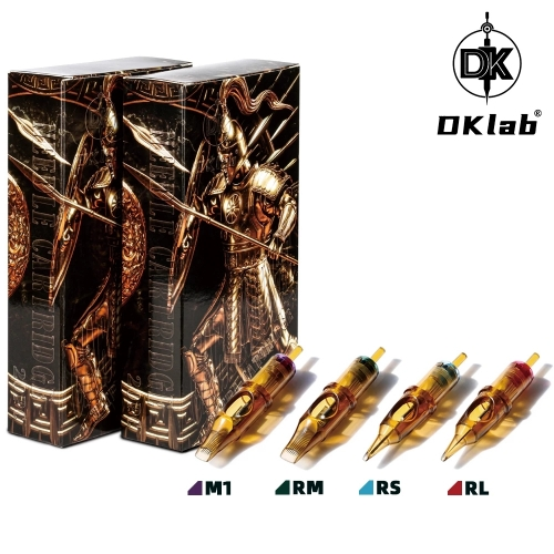 2020 Newest DKLAB New Version Tattoo Cartridge Needles,0.3mm&0.35mm RL / RS / RM(MC) / M1,20pcs Pack